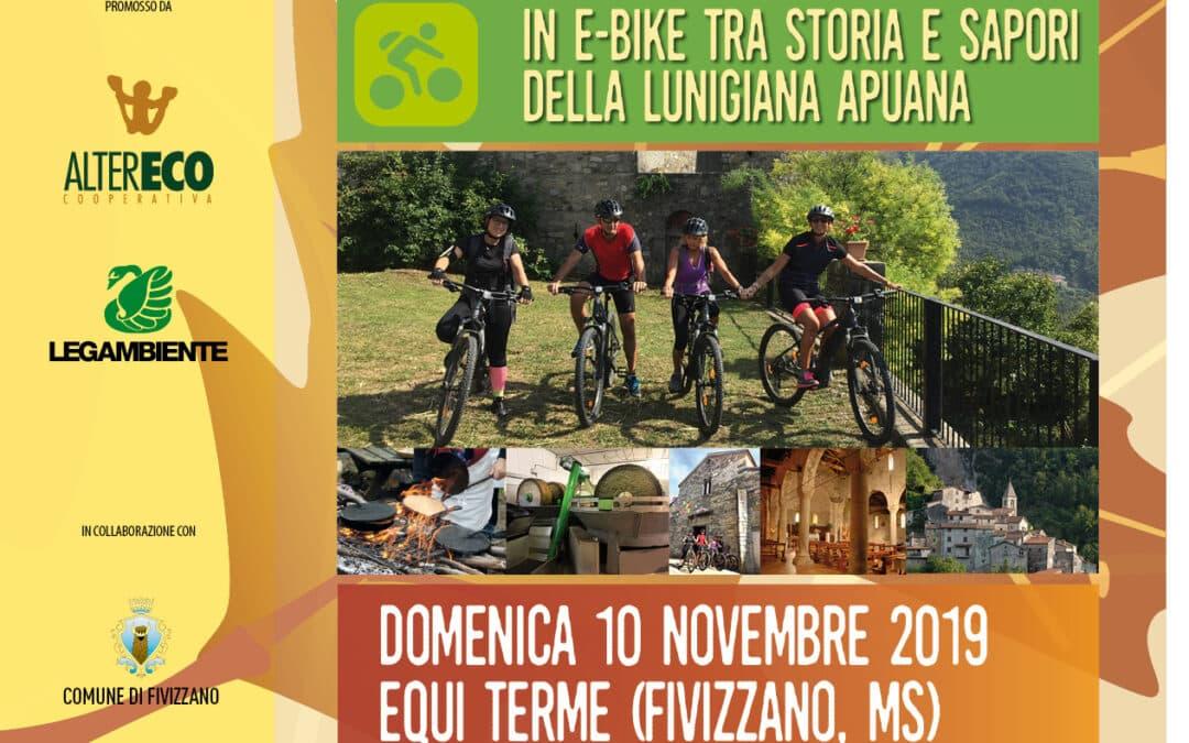 In e-bike tra storia e sapori della Lunigiana Apuana